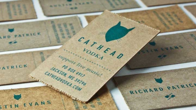 Cathead Vodka – Business Cards
