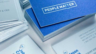 PeopleMatter – Business Cards