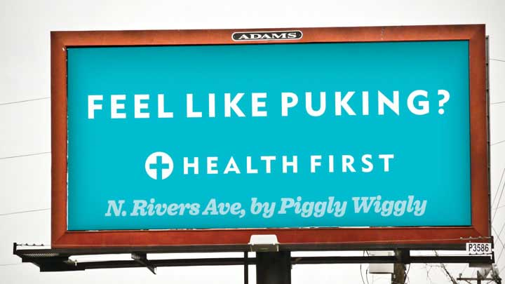 HealthFirst – Outdoor Campaign