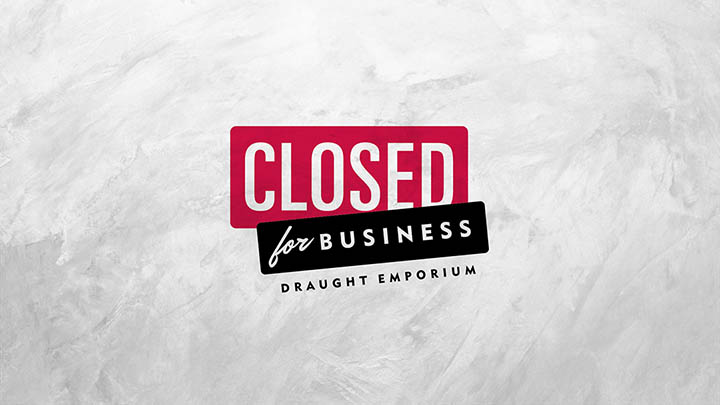 Closed for Business – Logo